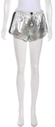 Rebecca Minkoff Metallic Athletic Shorts w/ Tags