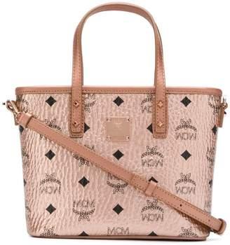 MCM Anya metallic tote bag