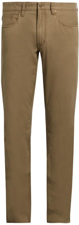 Polo Ralph LaurenPOLO RALPH LAUREN Slim-fit cotton-blend chino trousers