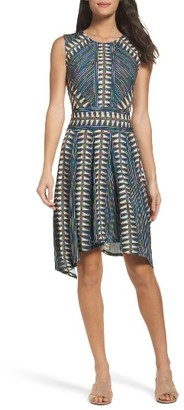 Women's Bcbgmaxazria City Fit & Flare Dress $168 thestylecure.com