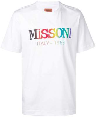 Missoni logo patch T-shirt