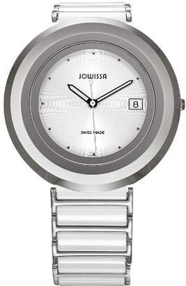Jowissa Women's 'Cyclon' Quartz Stainless Steel and Ceramic Casual Watch