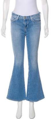 L'Agence Elysee Low-Rise Jeans