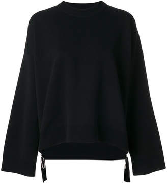 Paco Rabanne oversized zipped sweater
