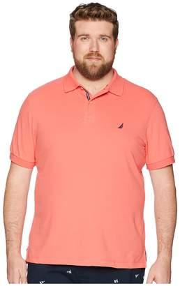 Nautica Big Tall Short Sleeve Solid Deck Shirt Men's Clothing