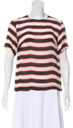 Preen Line Short Sleeve Striped Top w/ Tags