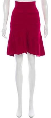 Ohne Titel Knit Knee-Length Skirt