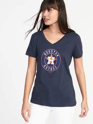 Old Navy MLB® Team Graphic V-Neck Tee for Women