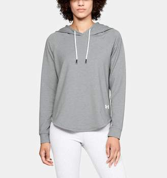Under Armour Women's UA Featherweight Fleece Oversize Hoodie