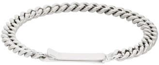 Saskia Diez Silver Grand Identity Bracelet