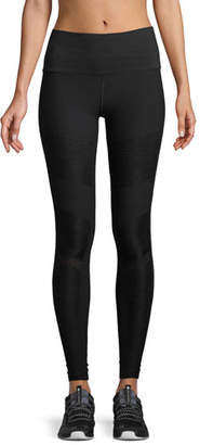 Alo Yoga Moto High-Waist Seamless Performance Leggings