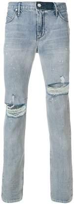 RtA distressed slim-fit jeans