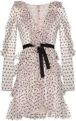 Philosophy di Lorenzo Serafini polka dot ruffle dress