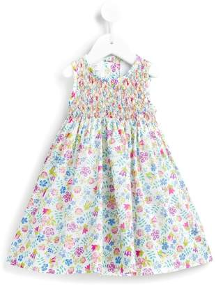 Cashmirino Floral print smock dress