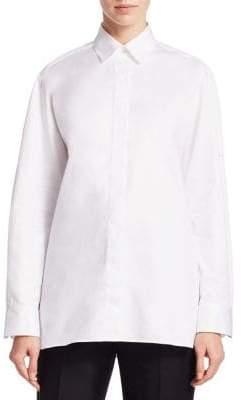 The Row Juliette Button-Front Shirt