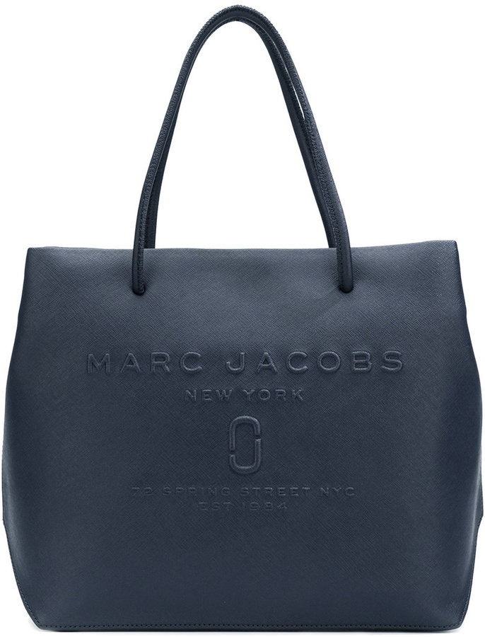 Marc Jacobs Marc Jacobs Logo Shopper East-West tote