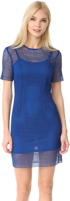 Diane von Furstenberg Chain Lace Dress $398 thestylecure.com