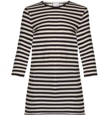 Raey Half-sleeved striped cotton T-shirt