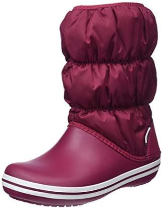 Crocs Women Winter Puff Snow Boots, Blue (Navy/white), (34-35 EU)