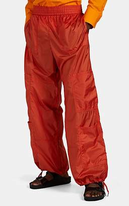 Wales Bonner Men's Tech-Taffeta Cargo Trousers - Orange