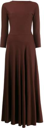 Aspesi long-sleeve maxi dress