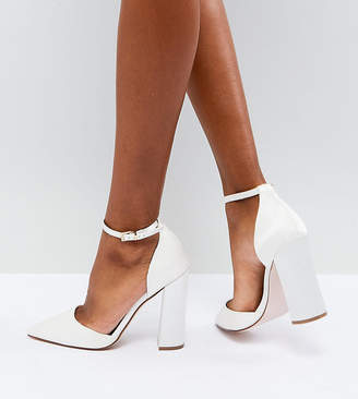 Asos Design Pebble Bridal Pointed High Heels