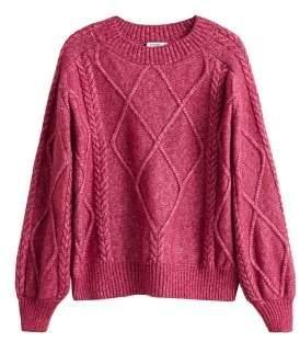 MANGO Textured knit sweater