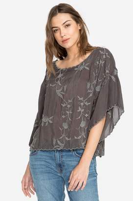 Johnny Was Winter Vine Cropped Top