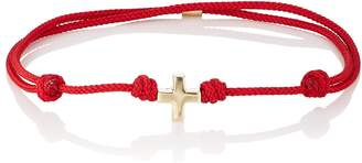 Luis Morais Men's Yellow Gold Bead-On-Cord Bracelet