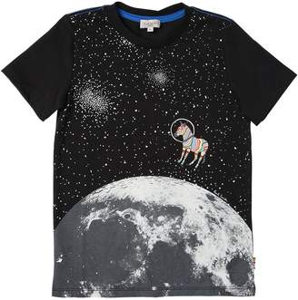 Paul Smith Glow In The Dark Print Jersey T-Shirt