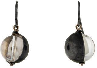 Bottega VenetaBottega Veneta Quartz Sphere Earrings