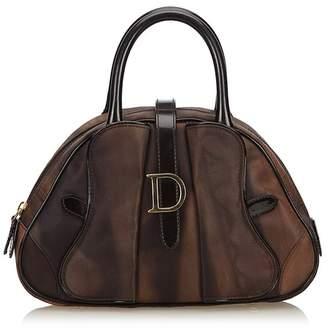Christian Dior Vintage Marbled Saddle Dome