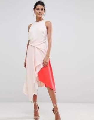 Coast Kai Color Block Soft Flow Dress