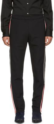 Moncler Black Polaire Technique Windstopper Lounge Pants