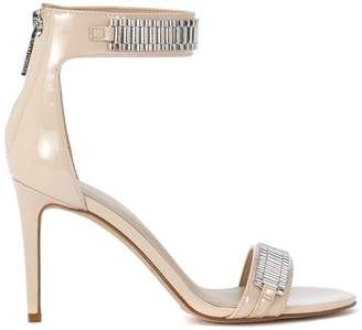 KENDALL + KYLIE Kendall+kylie Miaa Nude Patent Leather And Metal Heeled Sandal