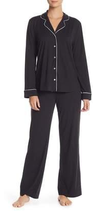 Shimera Long Sleeve Top & Pants 2-Piece Pajama Set