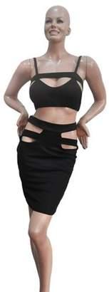 Walmart Sale Prices Women Slim Fit Fashion Bodycon Party Backless Dress Evening Bandage Dress