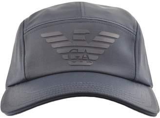 12687b6dc6d at Mainline Menswear Giorgio Armani Emporio Logo Baseball Cap Blue