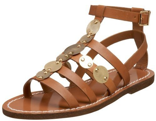 BCBGirls Women's Peter Flat Sandal
