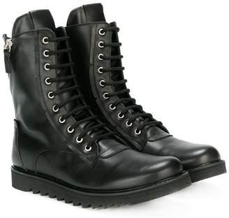 Cinzia Araia Kids teen lace-up boots