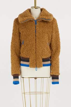 Marco De Vincenzo Faux fur jacket