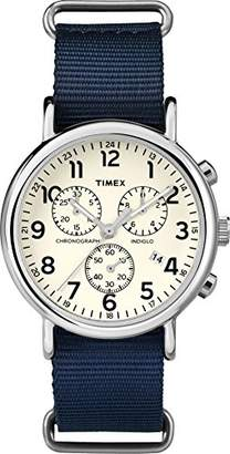 Timex Mens Analogue Classic Quartz Connected Wrist Watch with Nylon Strap TWC063800