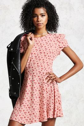 FOREVER 21+ Floral Fit and Flare Dress $24.90 thestylecure.com
