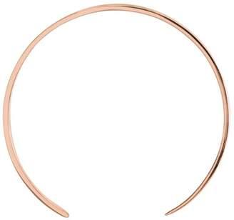 Ekria Single Extra Large Curve Earrings Shiny Rose Gold