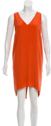 Maiyet Silk Knee-Length Dress