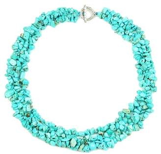 Eye Candy Los Angeles Turquoise Collar Necklace