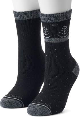 Columbia Women's 2-Pack Tree Crew Socks