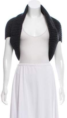 Michael Kors Short Sleeve Open Front Shrug