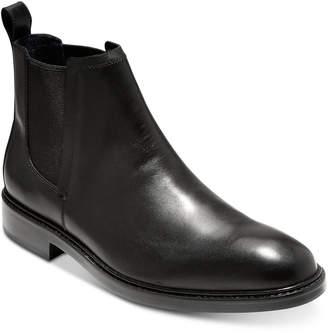 Cole Haan Men Kennedy Grand Waterproof Chelsea Boots Men Shoes