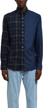 Opening Ceremony Gitman Brothers For Flannel Oxford Shirt